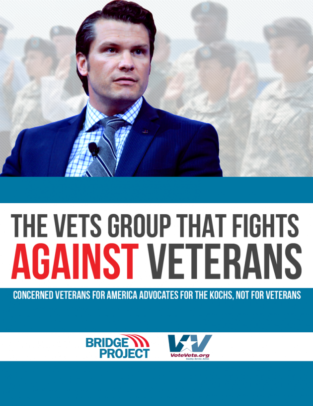 REPORT: The Vets Group That Fights Against Veterans - Bridge Project