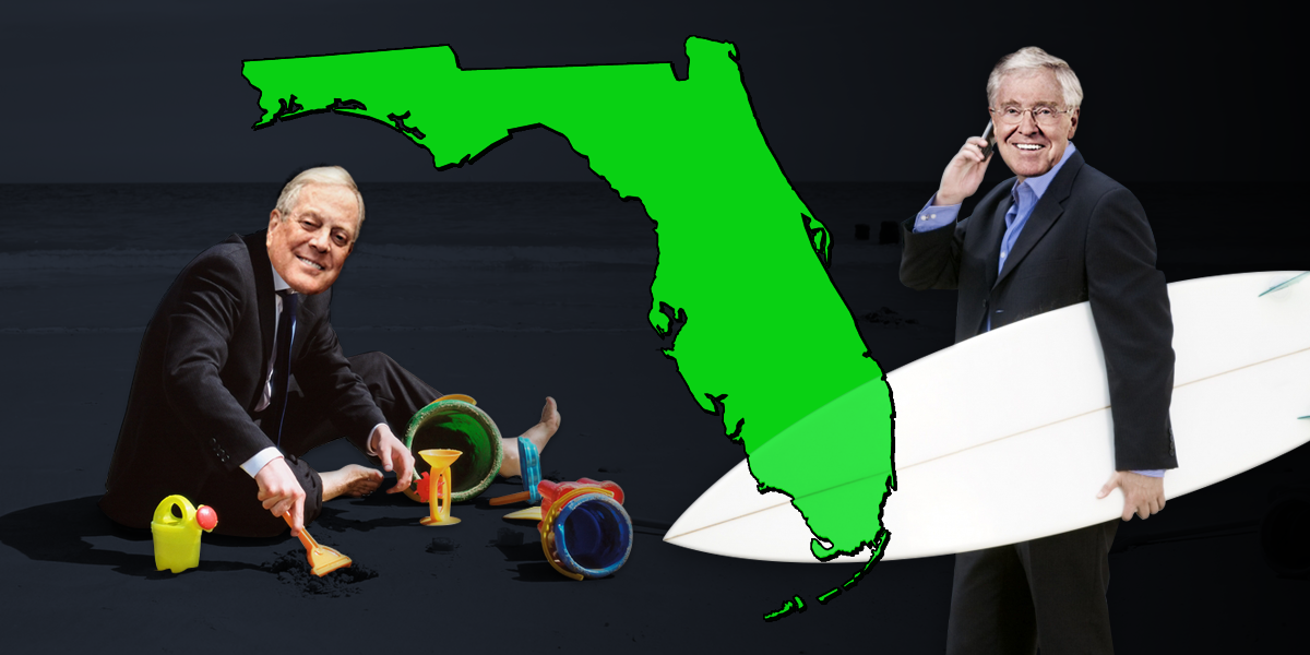 Florida Man Buys State: Koch Impacts in the Sunshine State